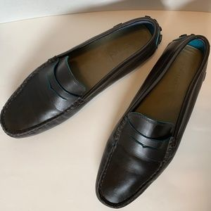 6b6e89672b8 Lacoste Mens Size 10 Concours 10 SRM Brown Loafer